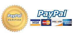 Shopping is safe and secure using Paypal